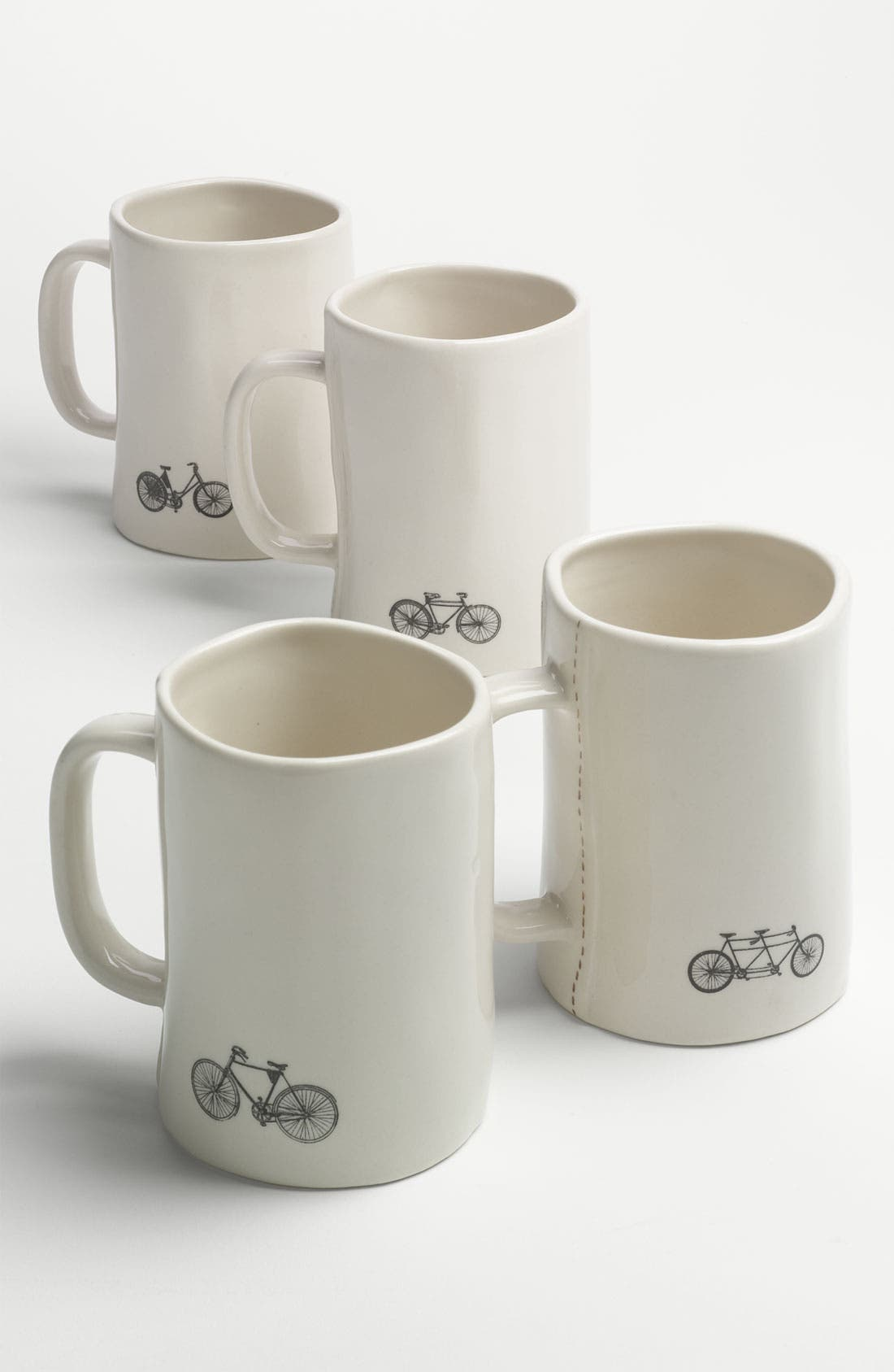 Main Image - Rae Dunn by Magenta Bike Mugs (Set of 4)