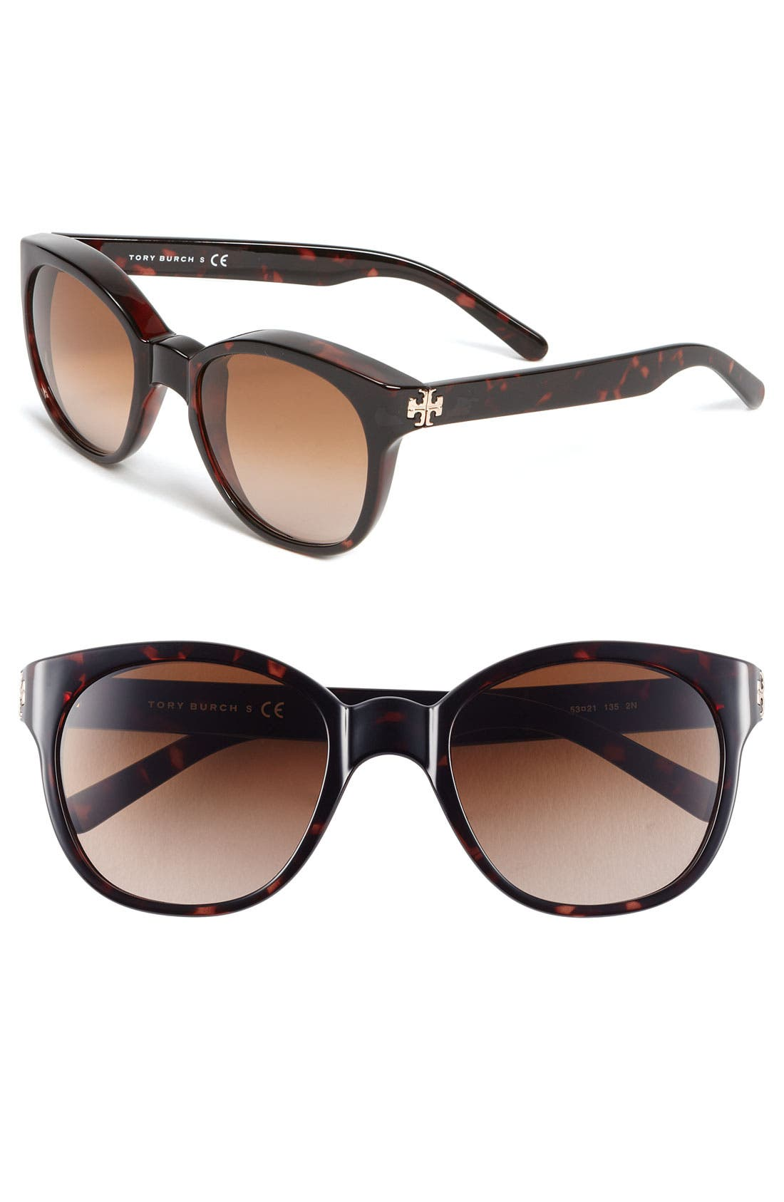 Alternate Image 1 Selected - Tory Burch 53mm Retro Sunglasses