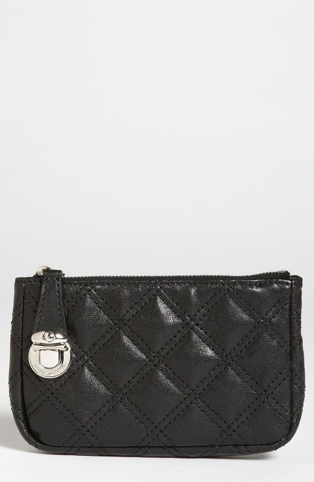 Main Image - MARC JACOBS 'Quilting Bond' Leather Pouch