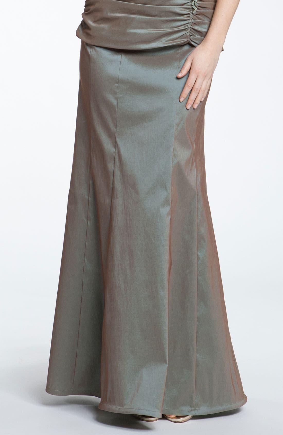 Alternate Image 1 Selected - Tadashi Shoji Taffeta Mermaid Skirt