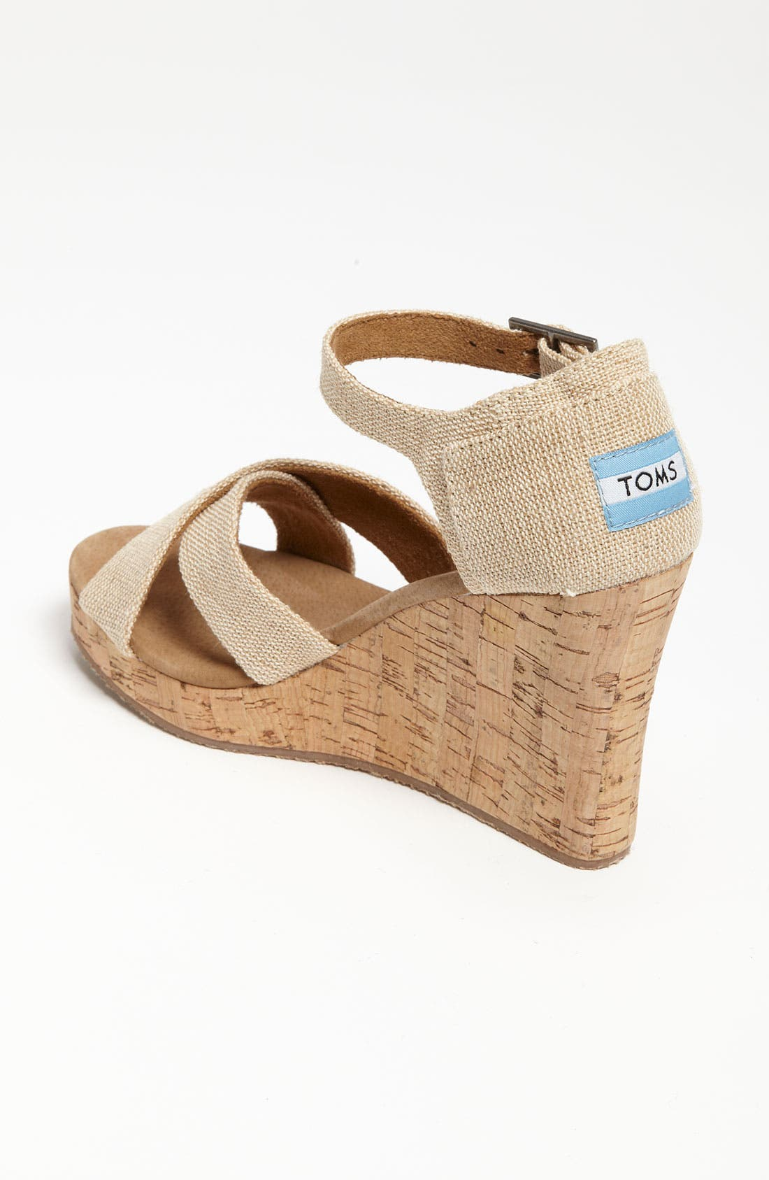 Alternate Image 2  - TOMS 'Sierra' Wedge Sandal