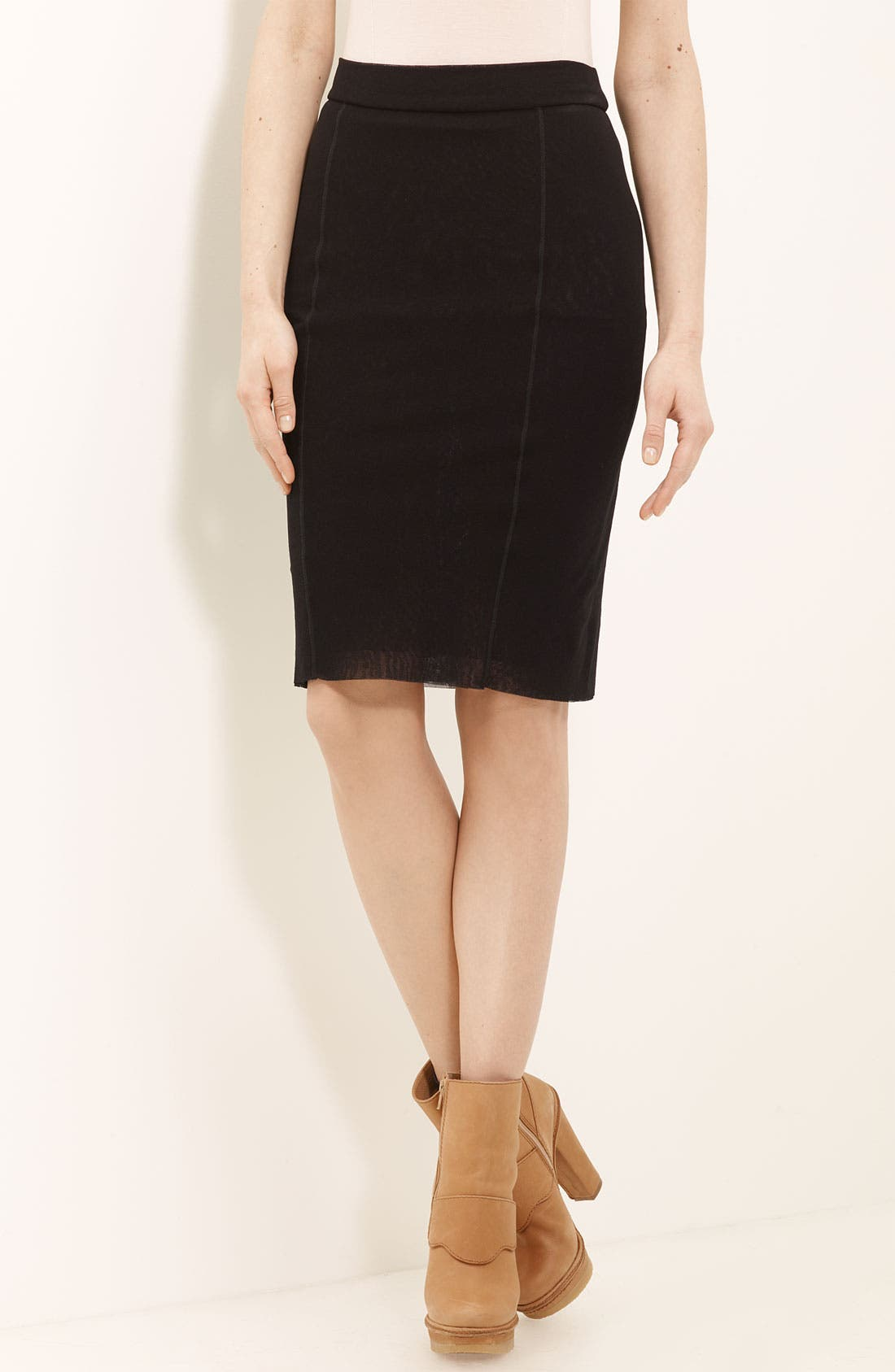 Main Image - Jean Paul Gaultier Fuzzi Tulle Pencil Skirt