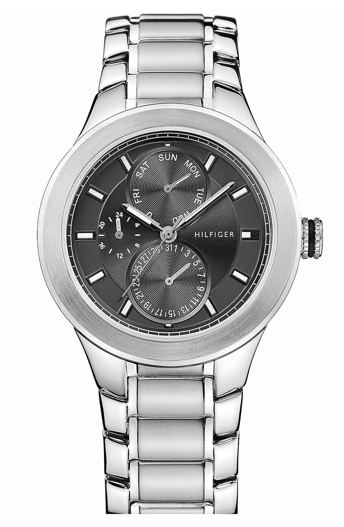 Alternate Image 1 Selected - Tommy Hilfiger 'Sport' Multifunction Bracelet Watch, 38mm