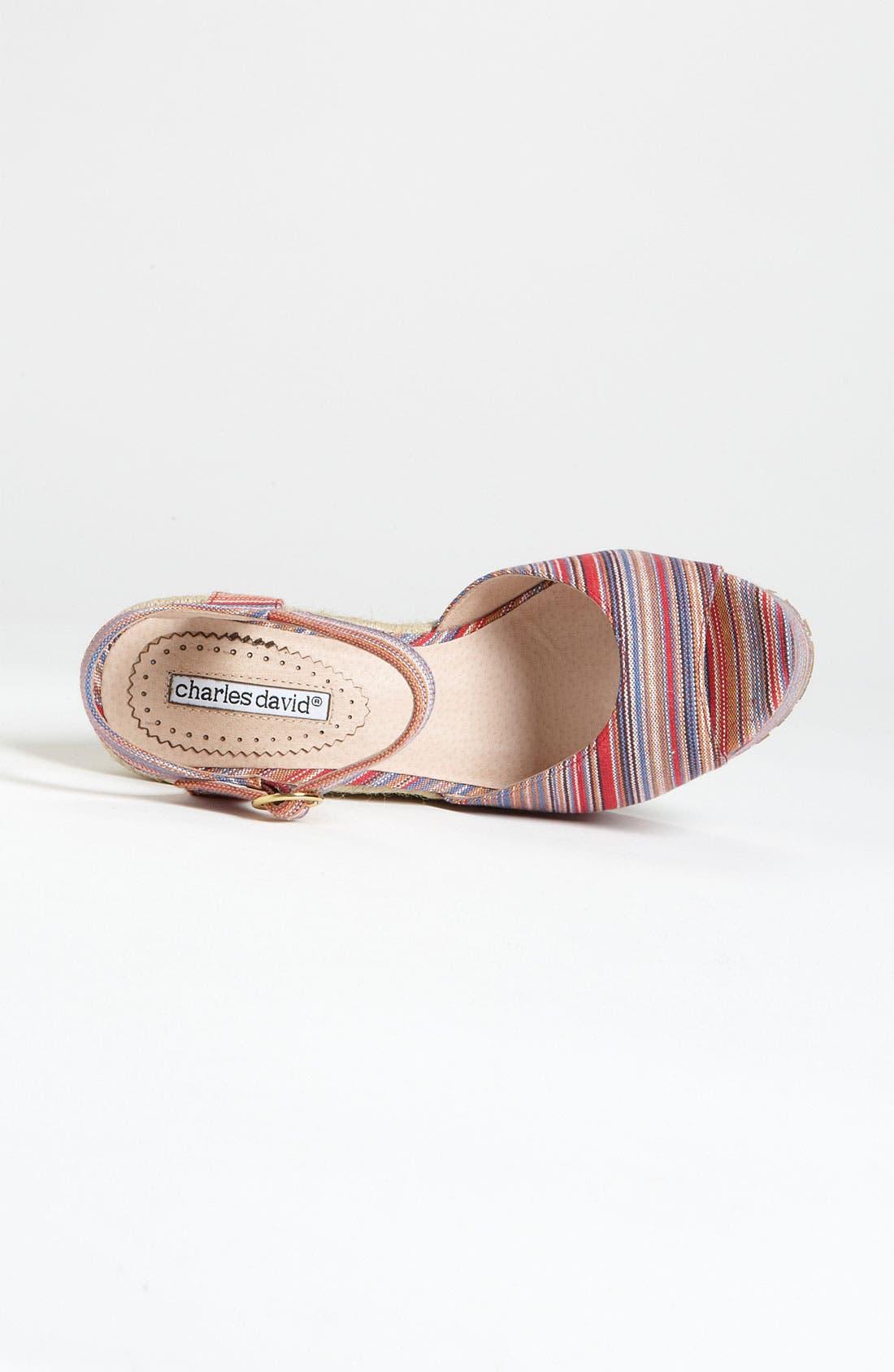 Alternate Image 3  - Charles David 'Baja' Sandal