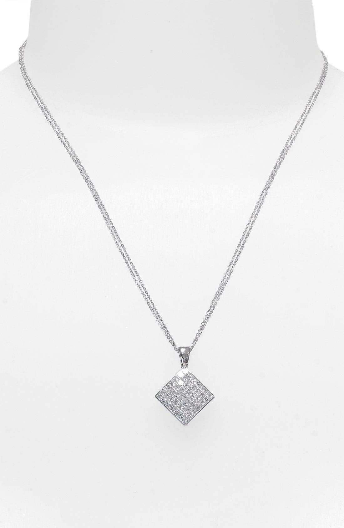 Alternate Image 2  - Bony Levy Diamond Pendant Necklace (Nordstrom Exclusive) (Limited Edition)