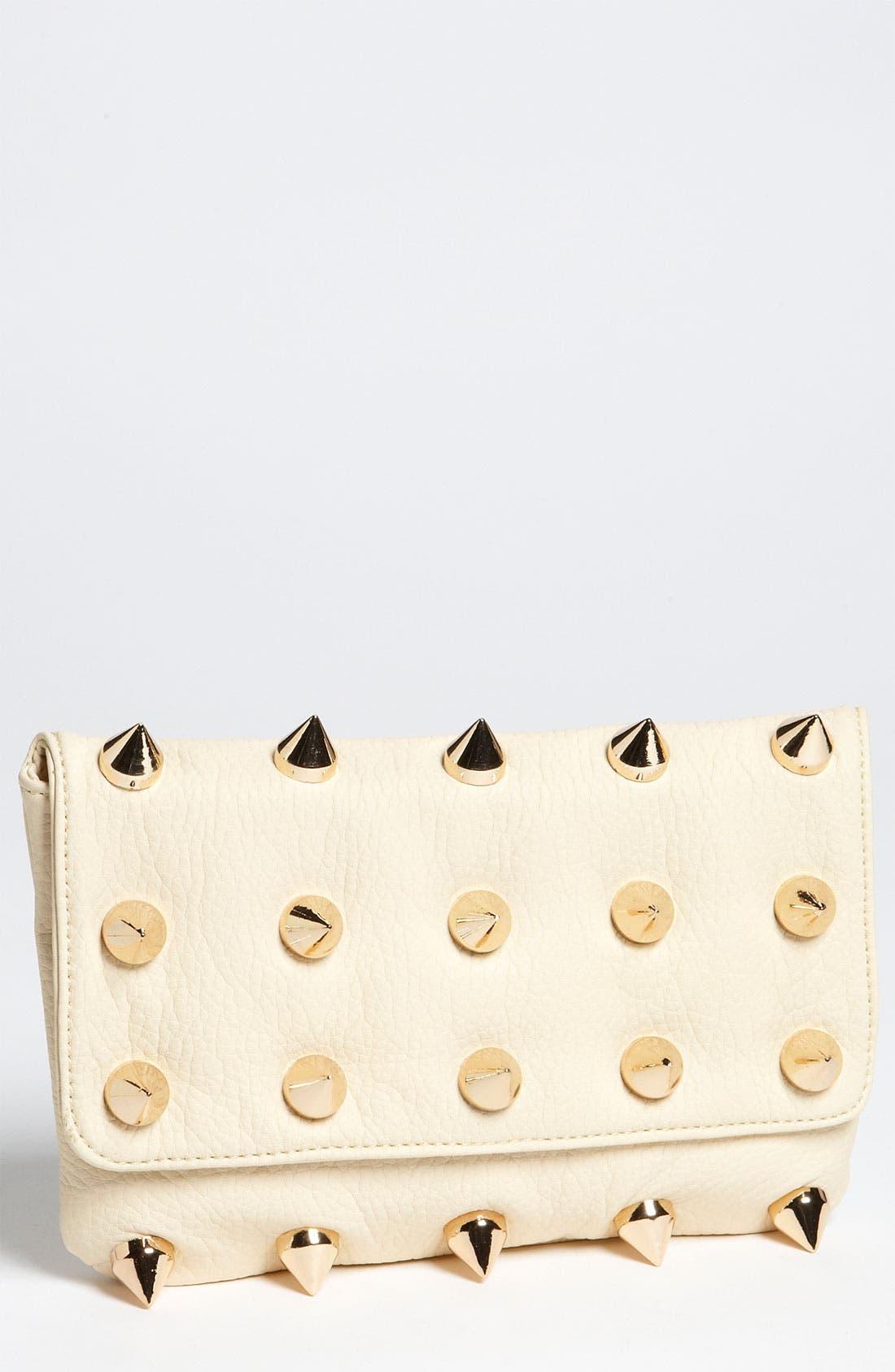 Main Image - Deux Lux 'Empire' Faux Leather Clutch
