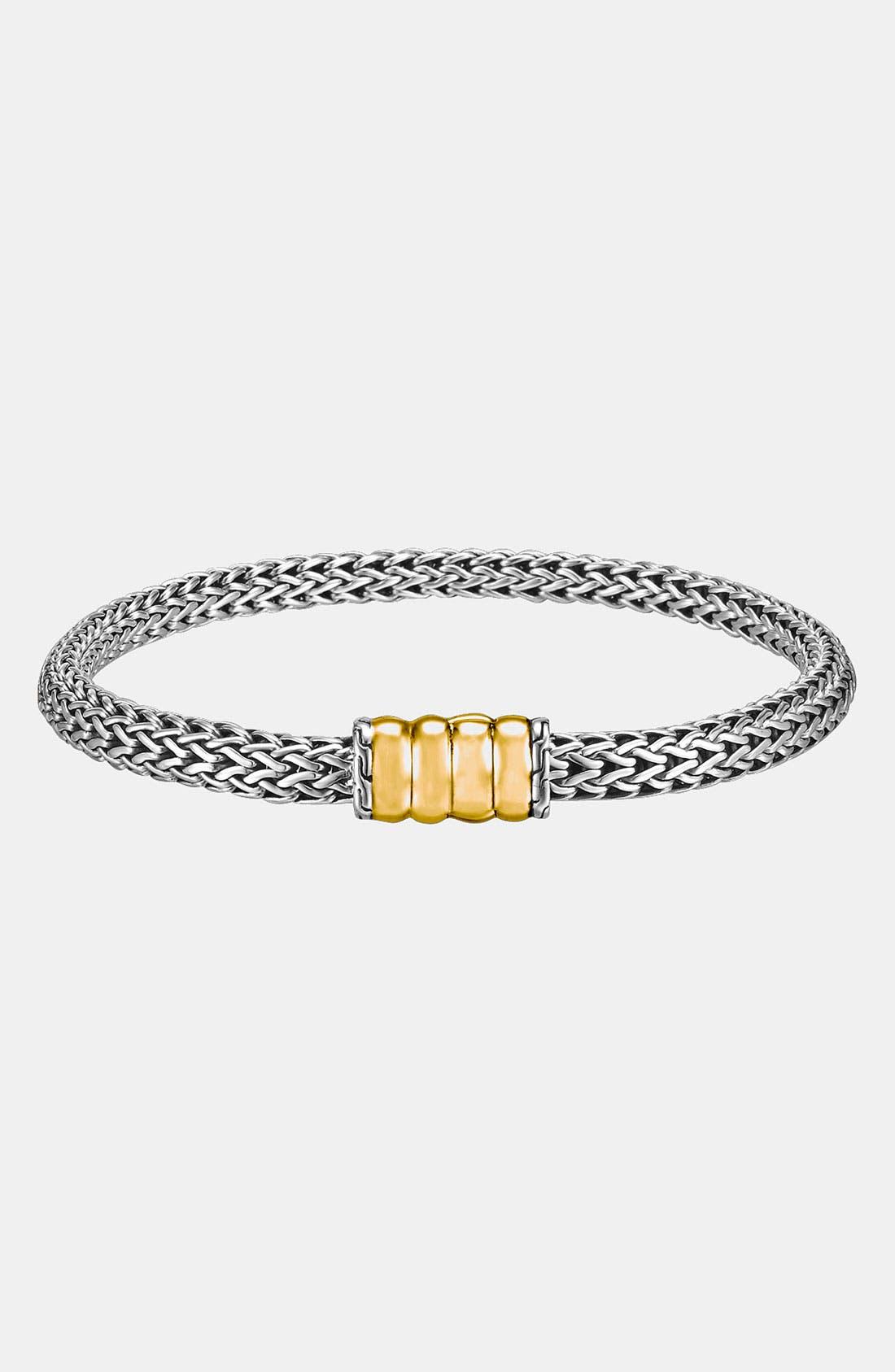 Main Image - John Hardy 'Bedeg' Slim Chain Bracelet