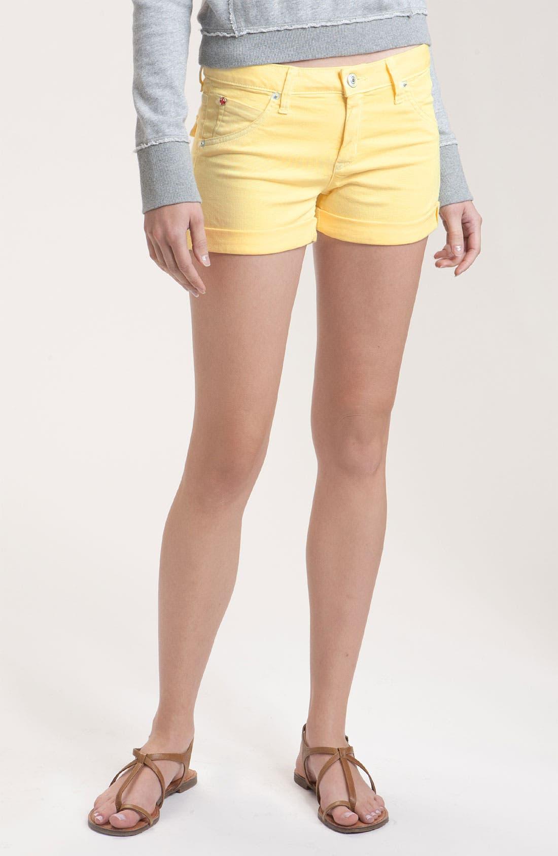 Alternate Image 1 Selected - Hudson Jeans 'Hampton' Denim Shorts (Banana)