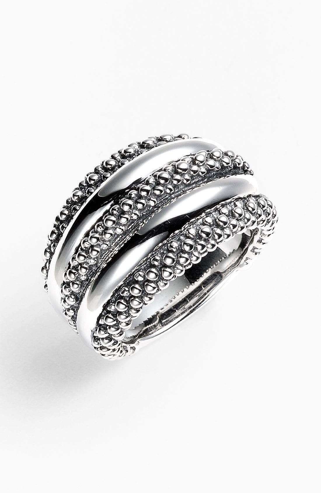 Alternate Image 1 Selected - LAGOS Caviar Dome Ring