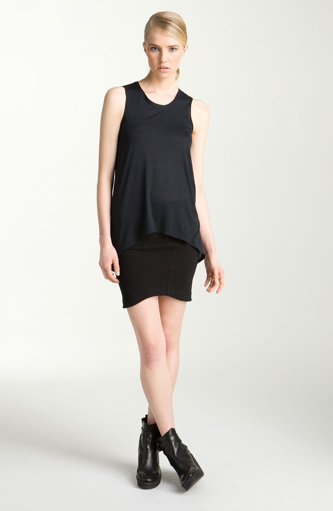 Alternate Image 1 Selected - HELMUT Helmut Lang 'Kinetic' Jersey Tank