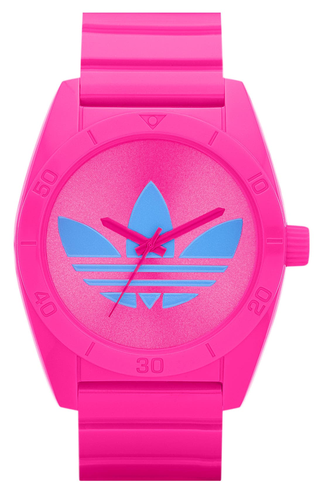 Alternate Image 1 Selected - adidas Originals 'Santiago' Polyurethane Strap Watch