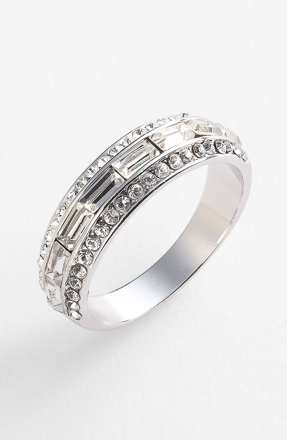 Alternate Image 1 Selected - Ariella Collection Baguette Band Ring