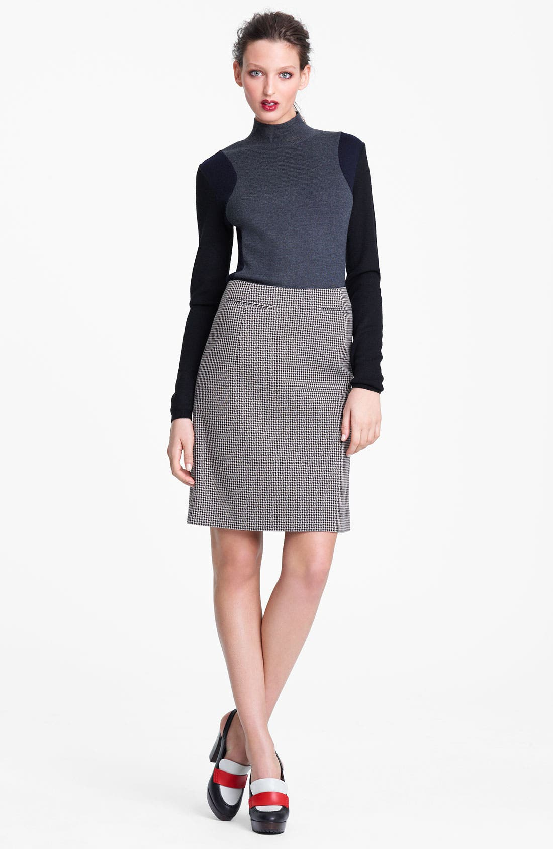 Alternate Image 6  - Marni Edition Houndstooth Pencil Skirt