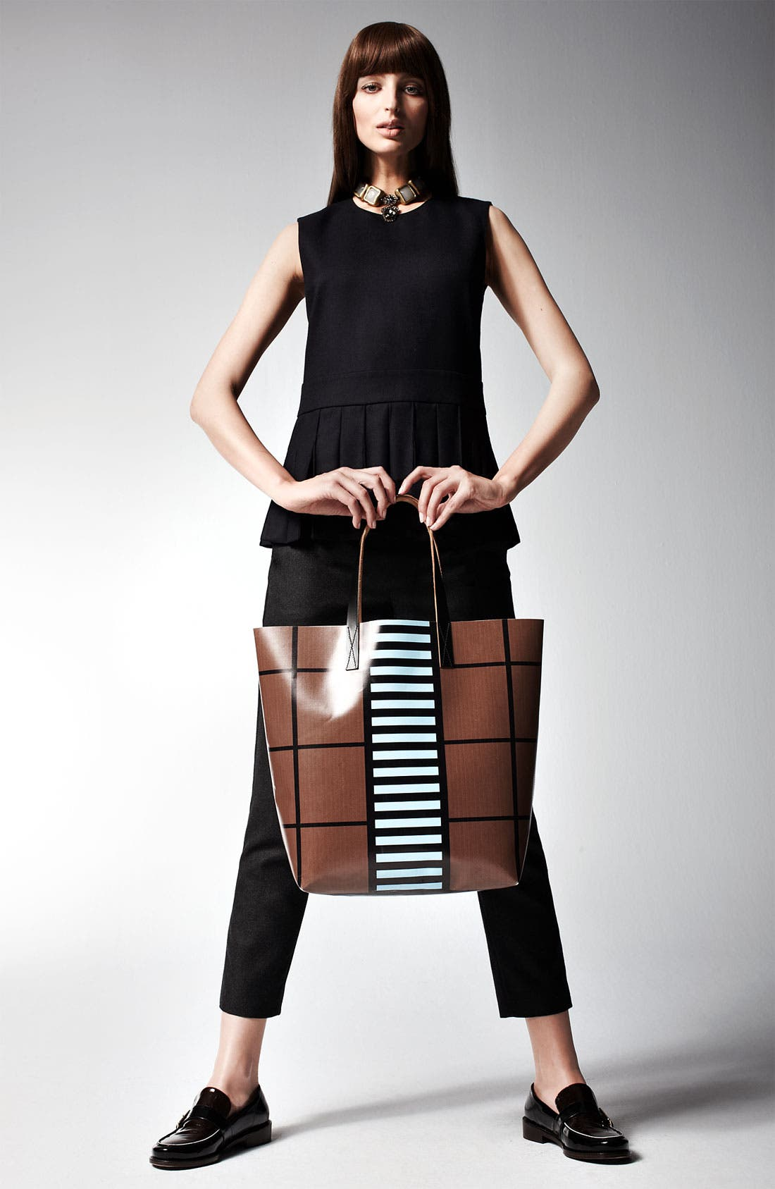 Alternate Image 4  - Marni Edition Pleat Front Sleeveless Top