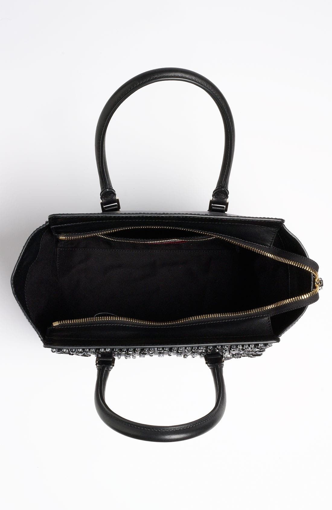 Alternate Image 3  - Valentino 'Crystal' Leather Shopper Tote