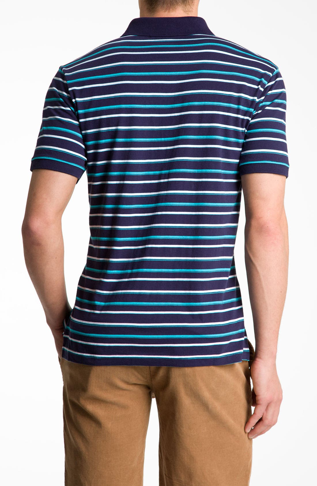 Alternate Image 2  - Original Penguin Stripe Polo