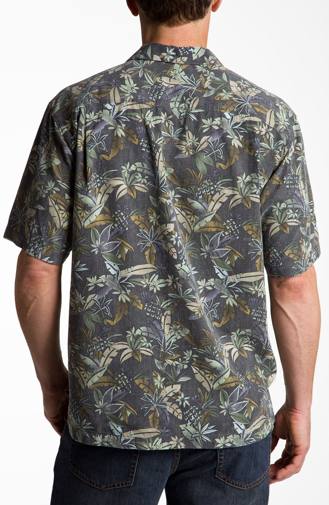 Alternate Image 2  - Tommy Bahama 'Pineapple Ranch' Sport Shirt