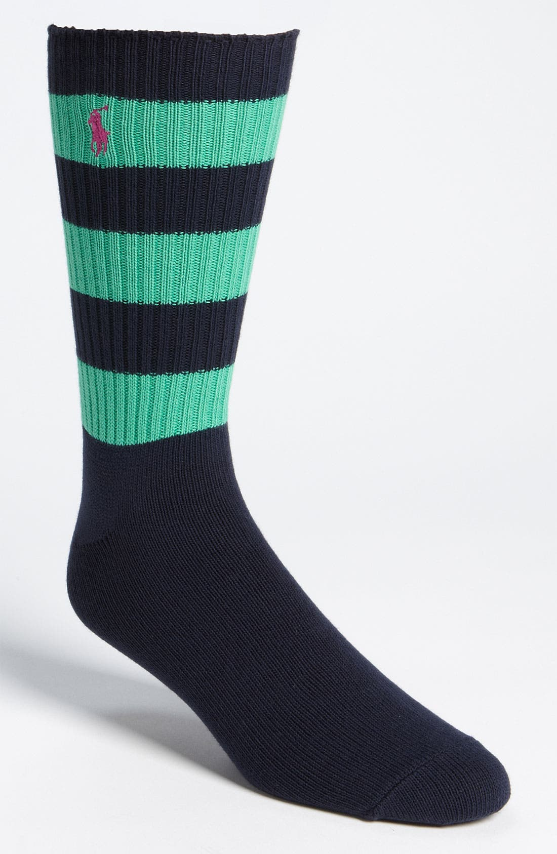 Alternate Image 1 Selected - Polo Ralph Lauren 'Blazer' Crew Socks