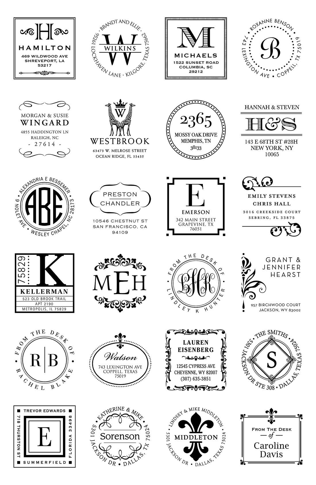 Alternate Image 2  - Personalized Stamp & Note Card Set