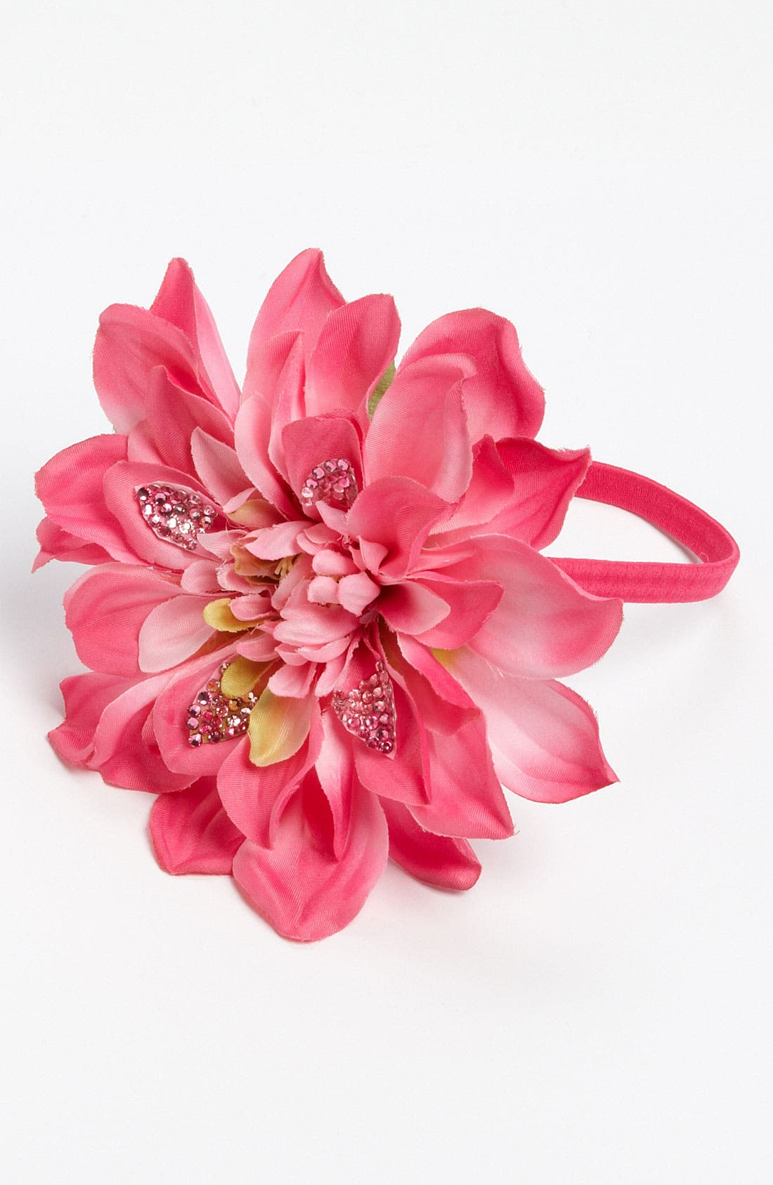Alternate Image 1 Selected - Cara Accessories 'Spring Bling' Flower Head Wrap
