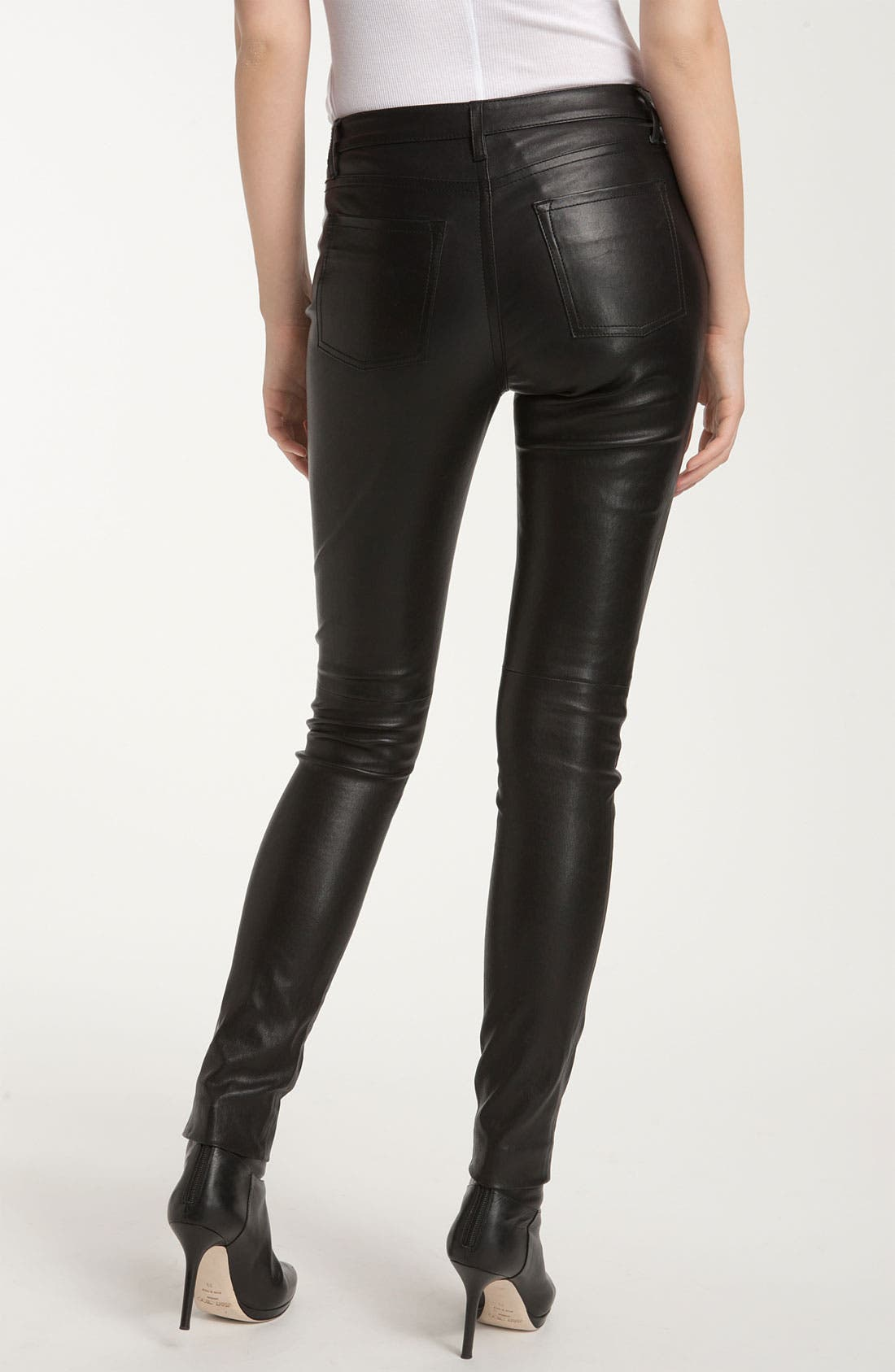 Alternate Image 2  - Vince Leather Jeans