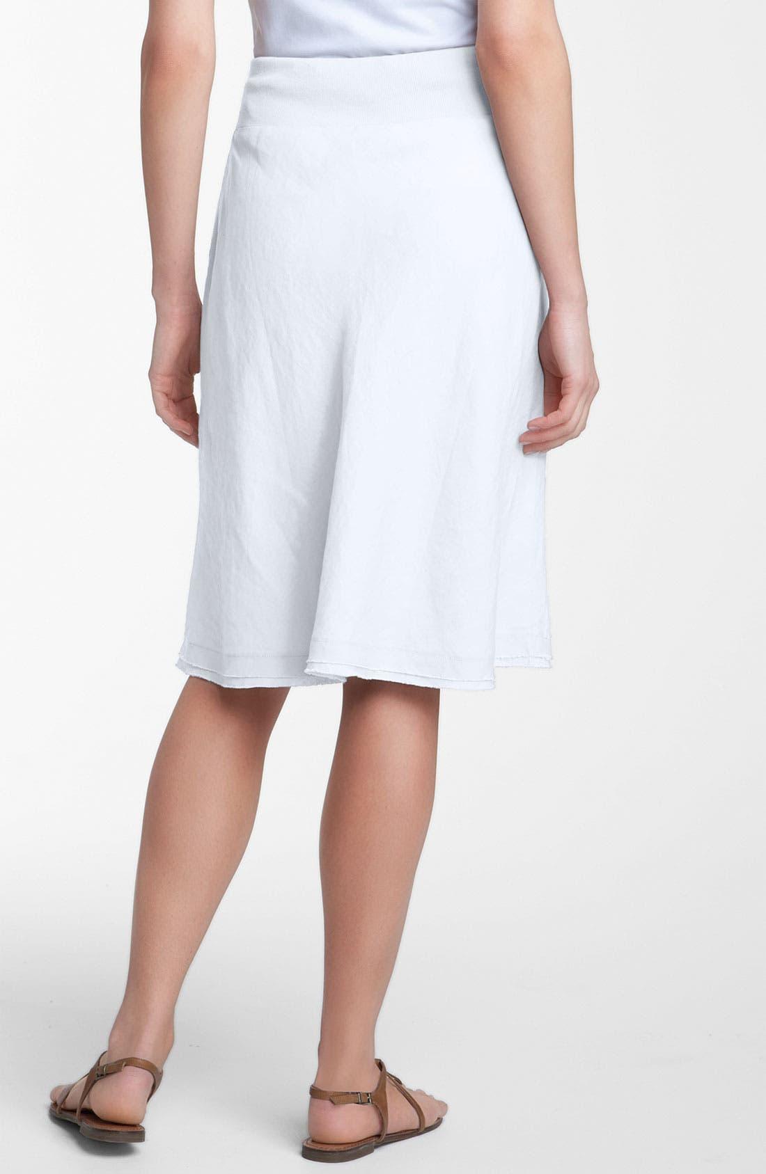 Alternate Image 2  - Eileen Fisher Drawstring Linen Skirt