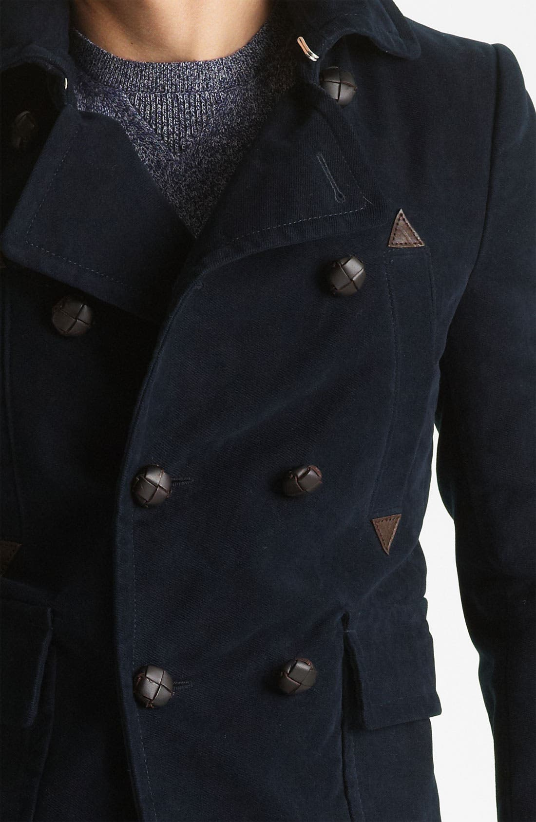 Alternate Image 3  - Dsquared2 'Dean' Double Breasted Peacoat