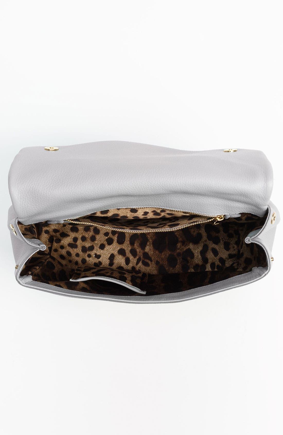 Alternate Image 3  - Dolce&Gabbana 'Miss Sicily Soft' Leather Satchel