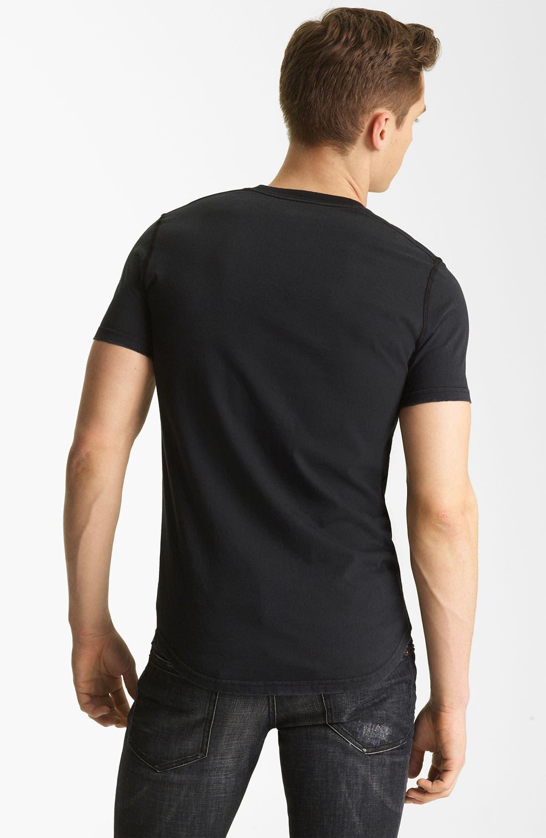 Alternate Image 2  - Dsquared2 Logo Graphic V-Neck T-Shirt