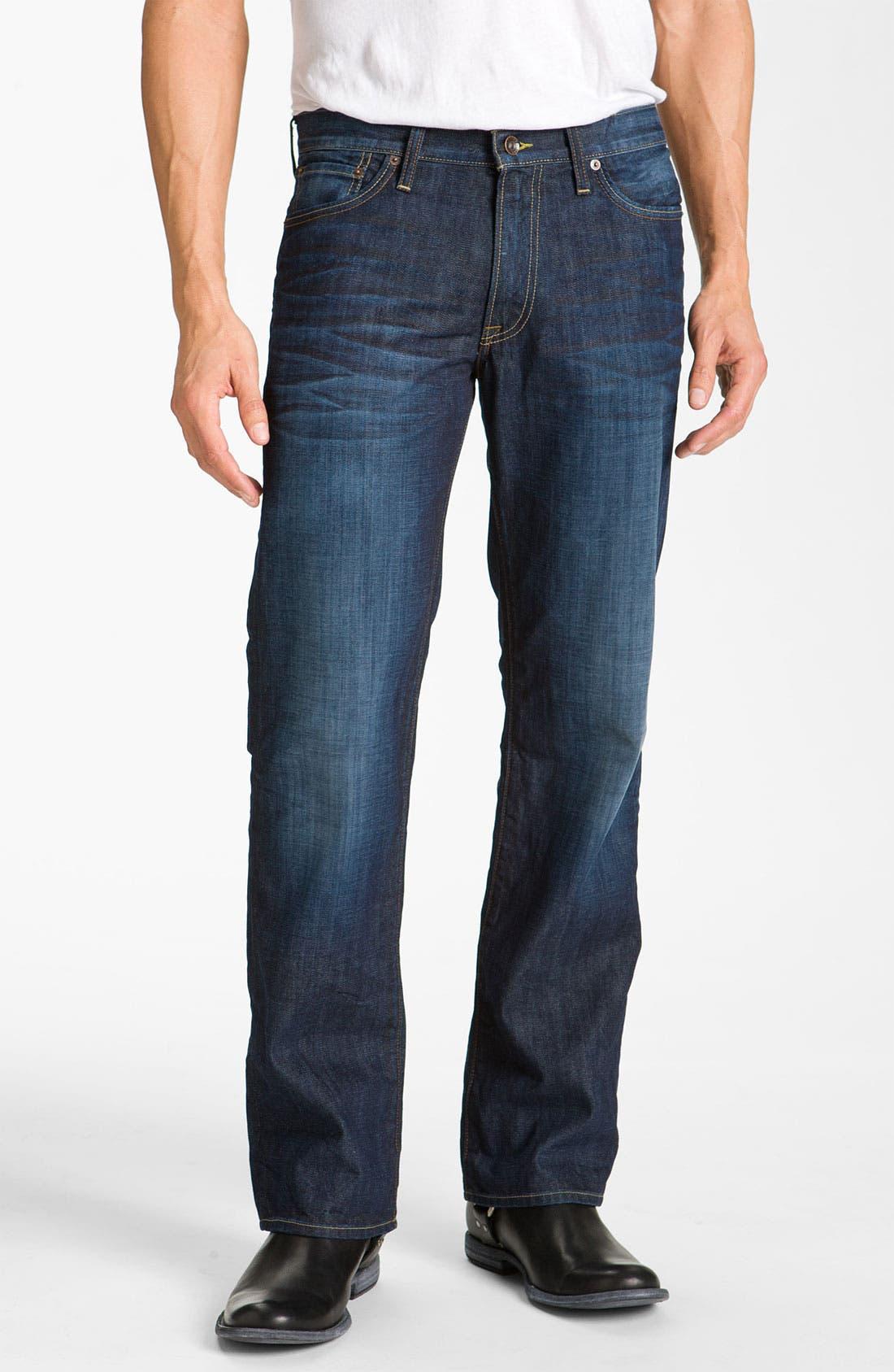 Alternate Image 1 Selected - Lucky Brand '361 Vintage' Straight Leg Jeans (Dark Creek)