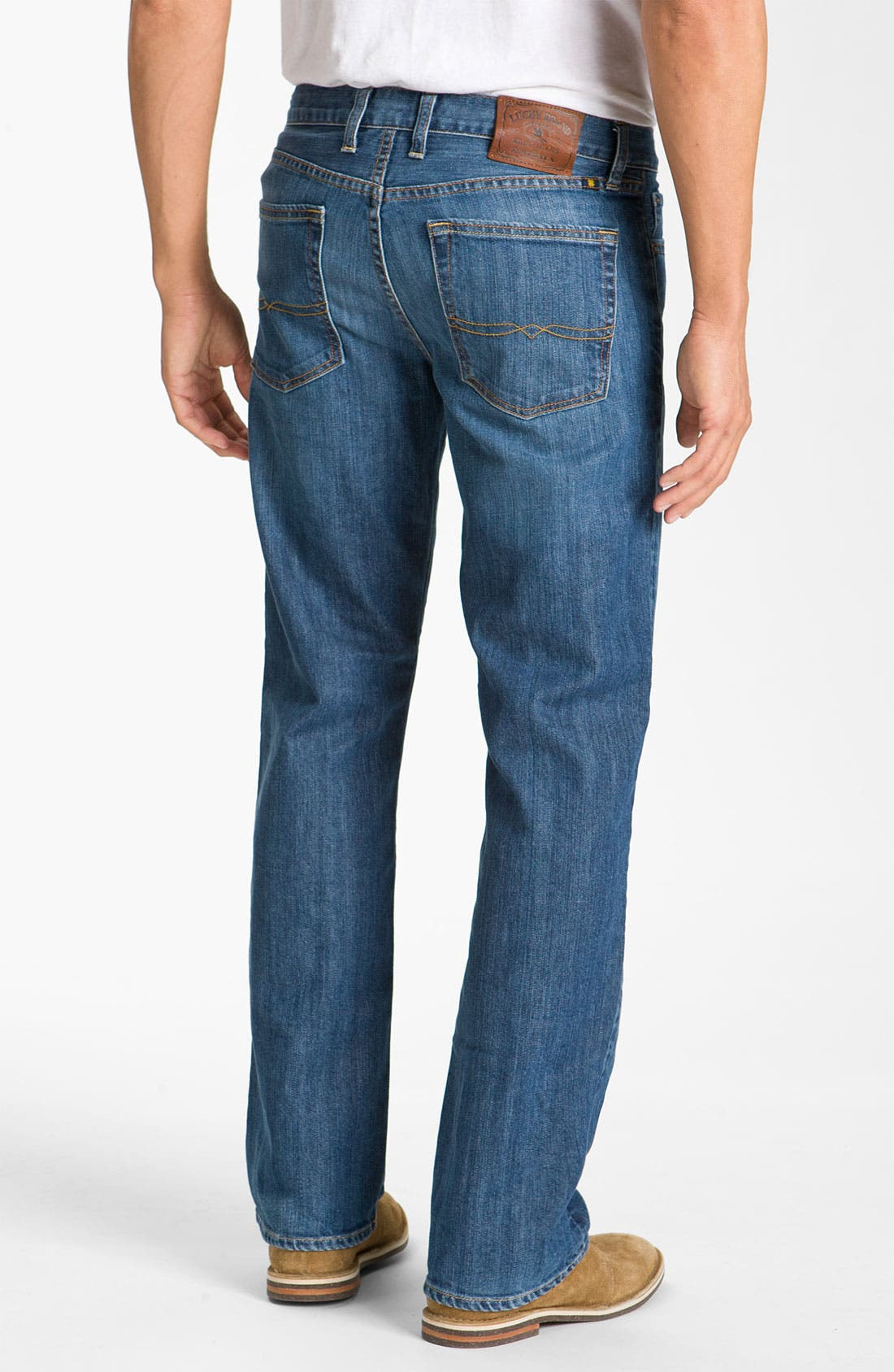 Alternate Image 2  - Lucky Brand '361 Vintage' Straight Leg Jeans (Rinse)