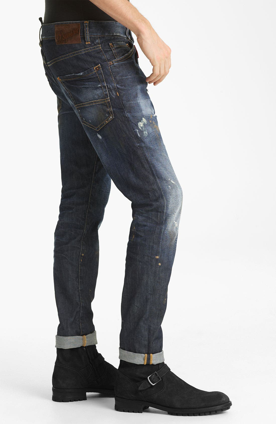 Alternate Image 3  - Dsquared2 'Cool Guy' Slim Straight Jeans (Warm Suede)