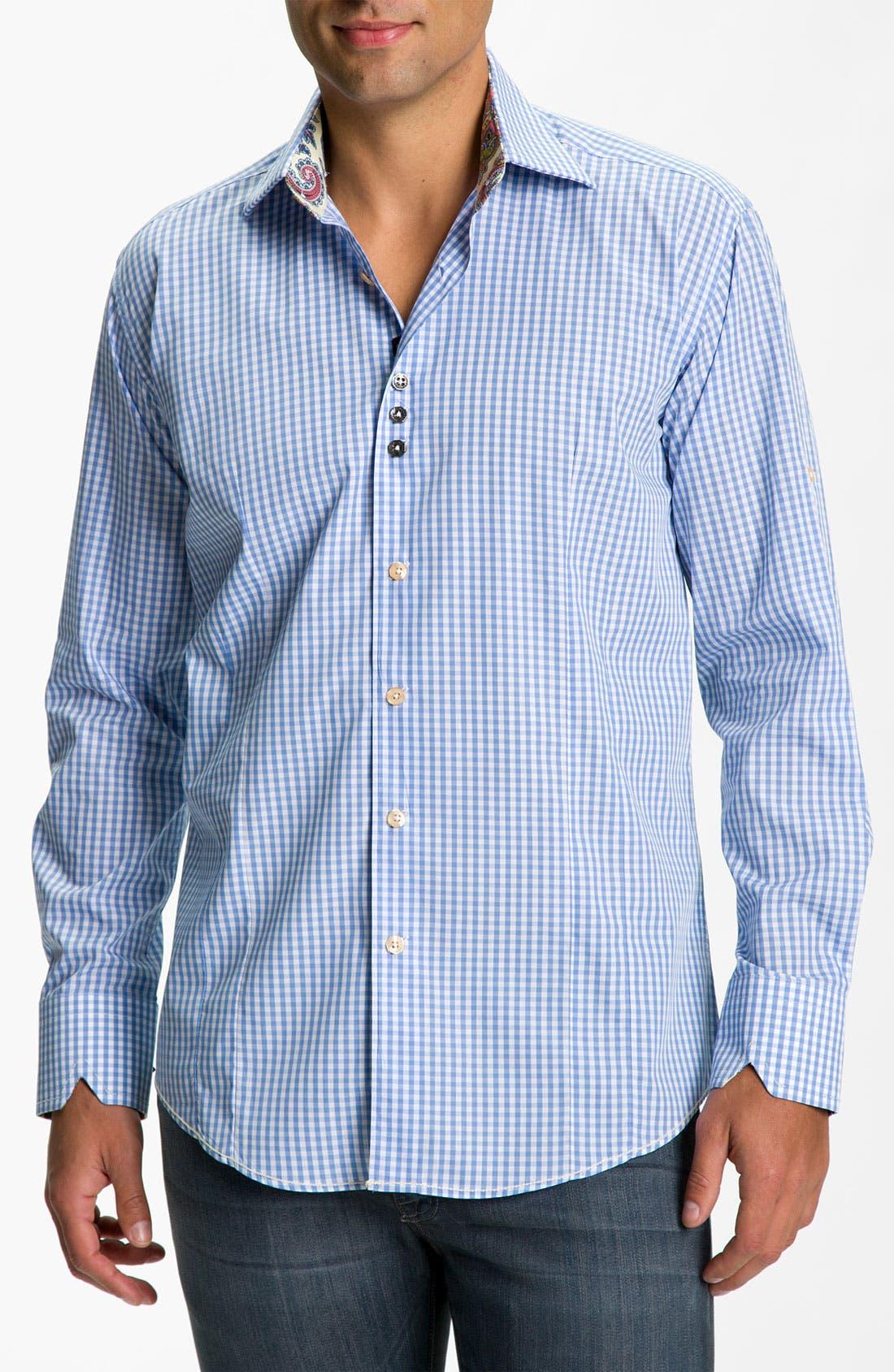 Alternate Image 1 Selected - Bogosse Trim Fit Sport Shirt