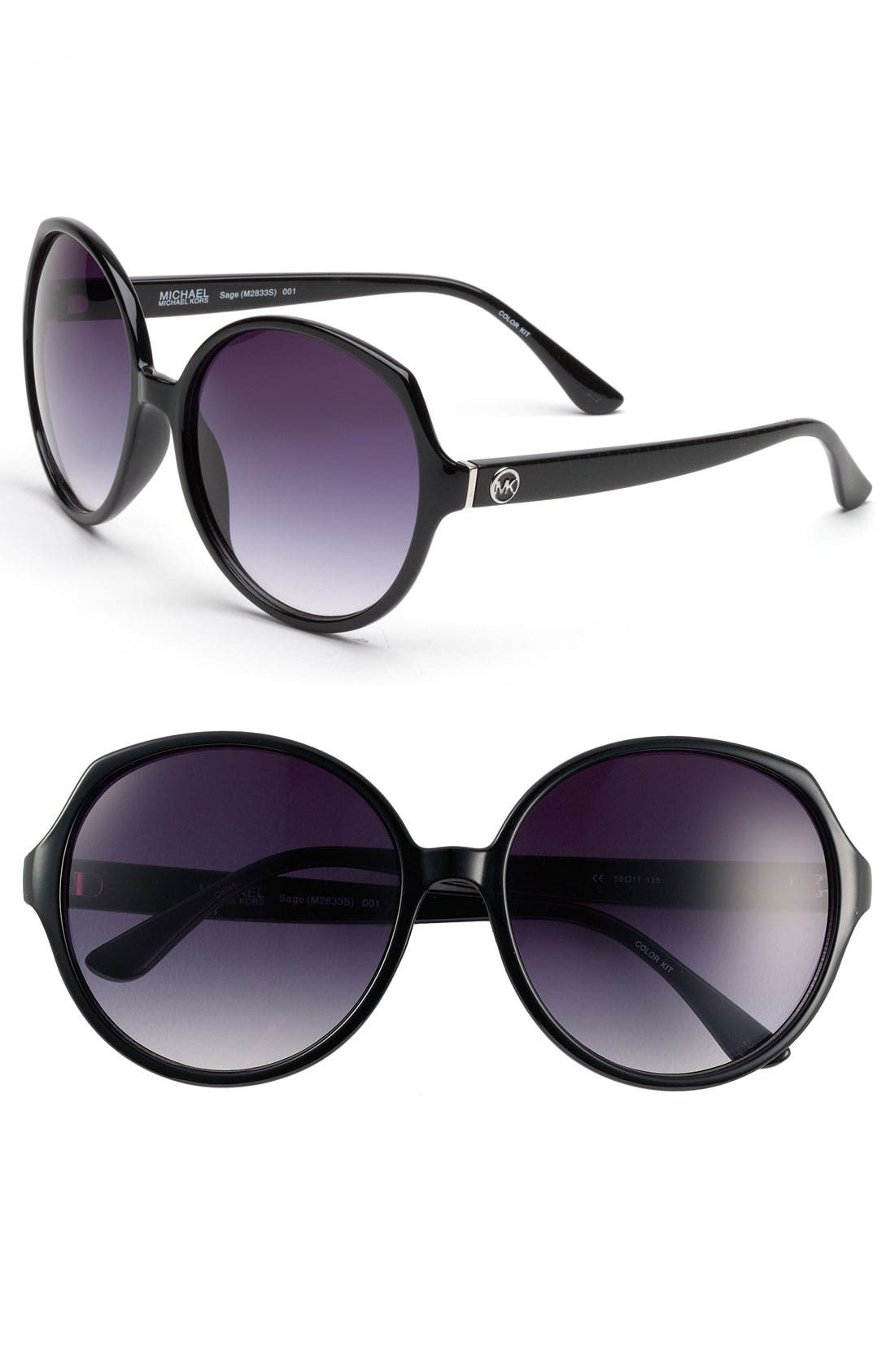 Alternate Image 1 Selected - MICHAEL Michael Kors 59mm Retro Sunglasses