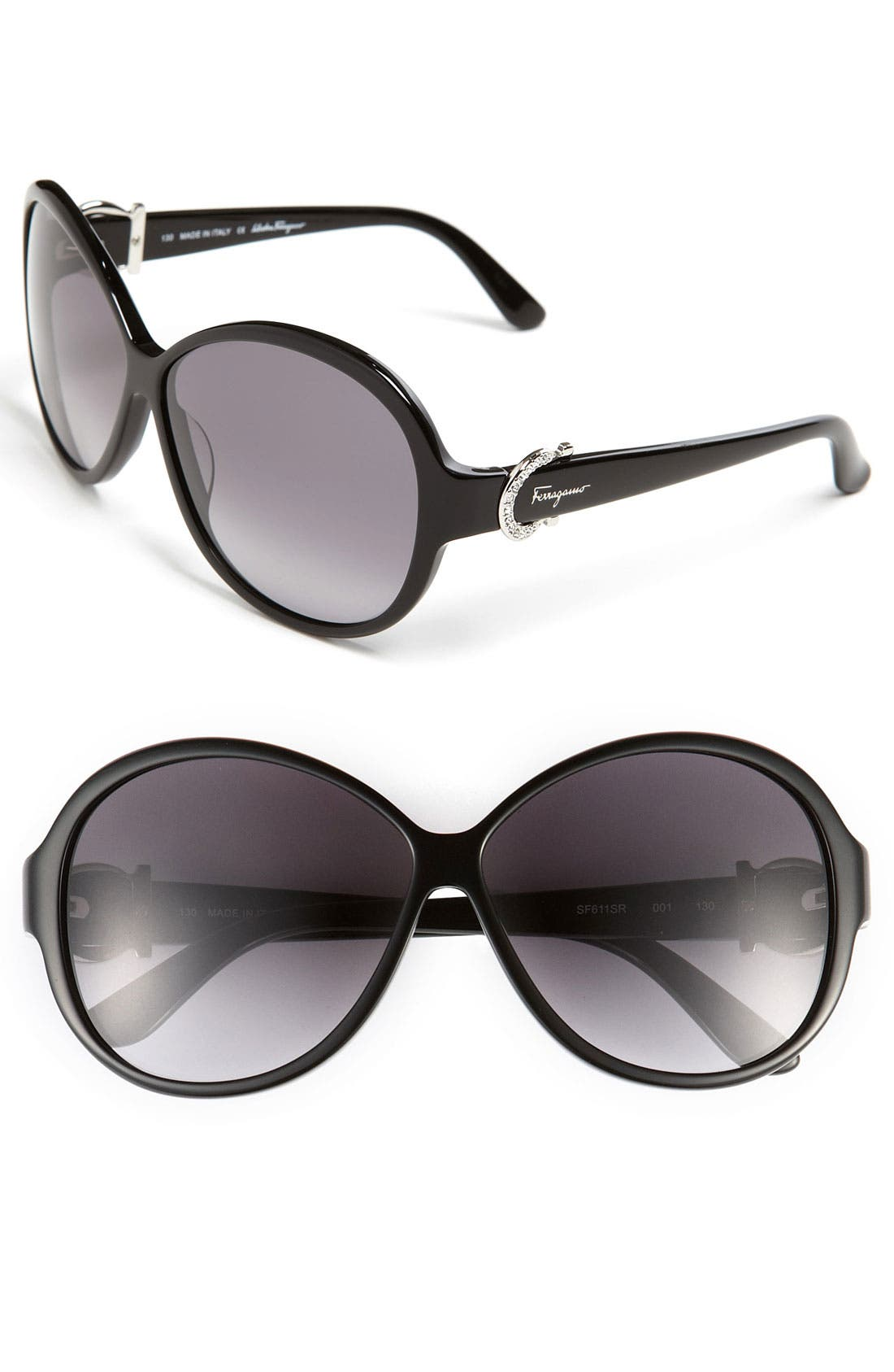Main Image - Salvatore Ferragamo 59mm Classic Sunglasses