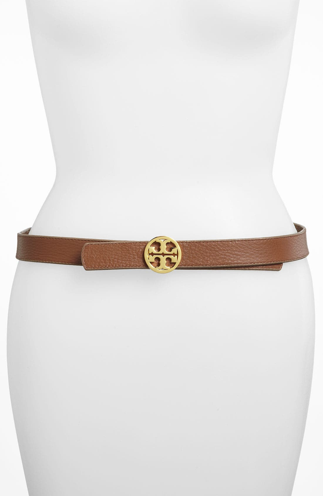 Alternate Image 2  - Tory Burch Reversible Python Print Belt