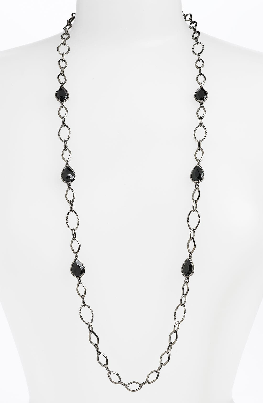 Alternate Image 1 Selected - Nordstrom 'Raindrops on Roses' Long Necklace
