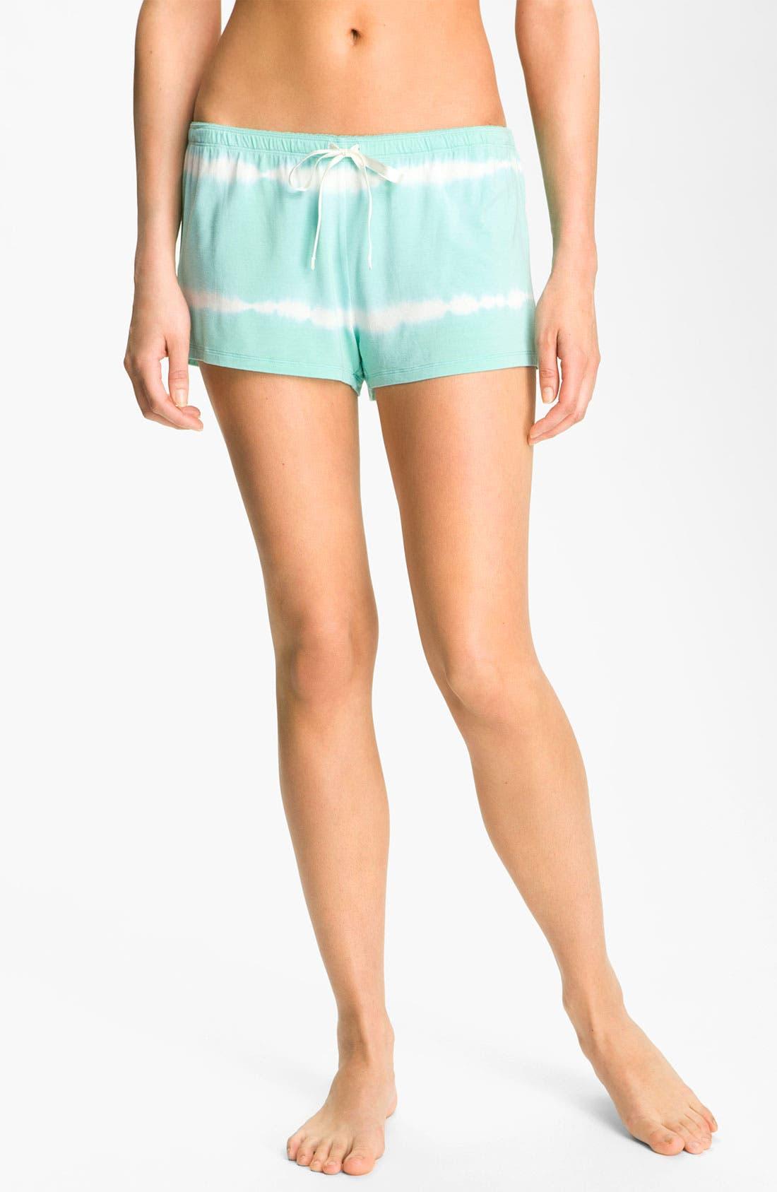 Alternate Image 1 Selected - PJ Salvage Tie Dye Lounge Shorts