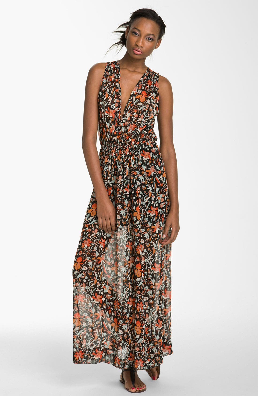 Alternate Image 1 Selected - Joie 'Lenli' Print Maxi Dress