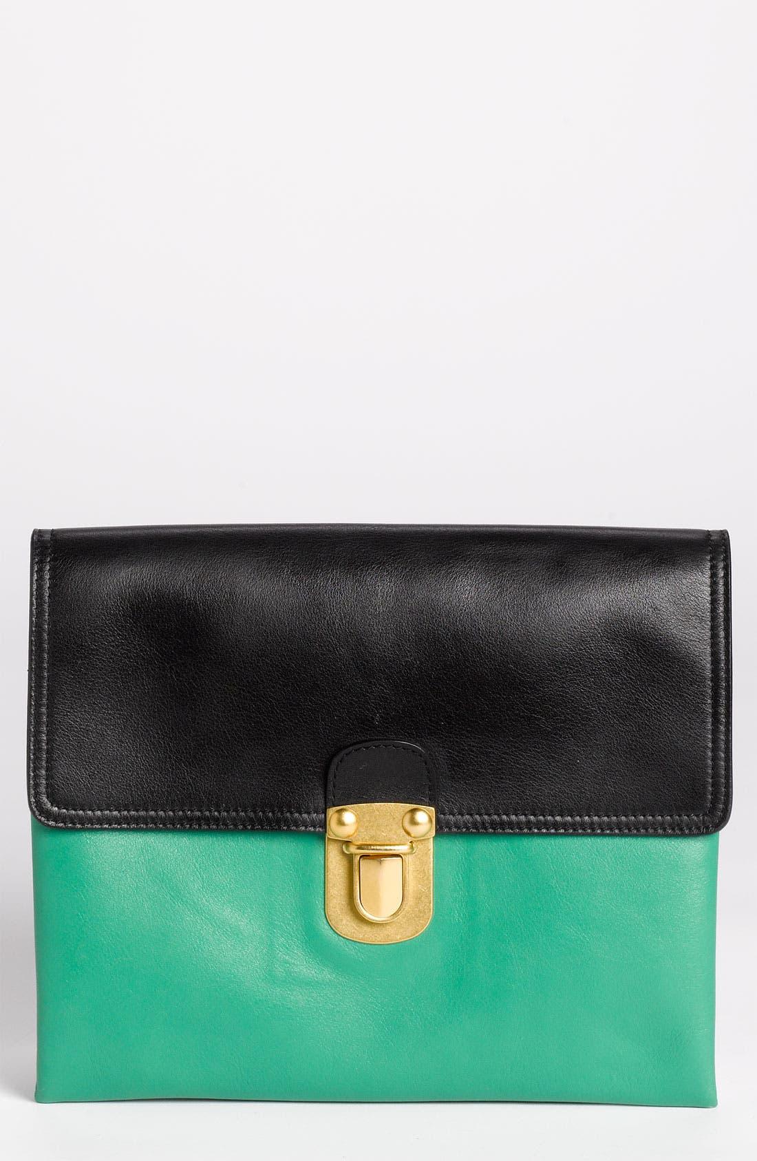 Main Image - Marni Leather Clutch