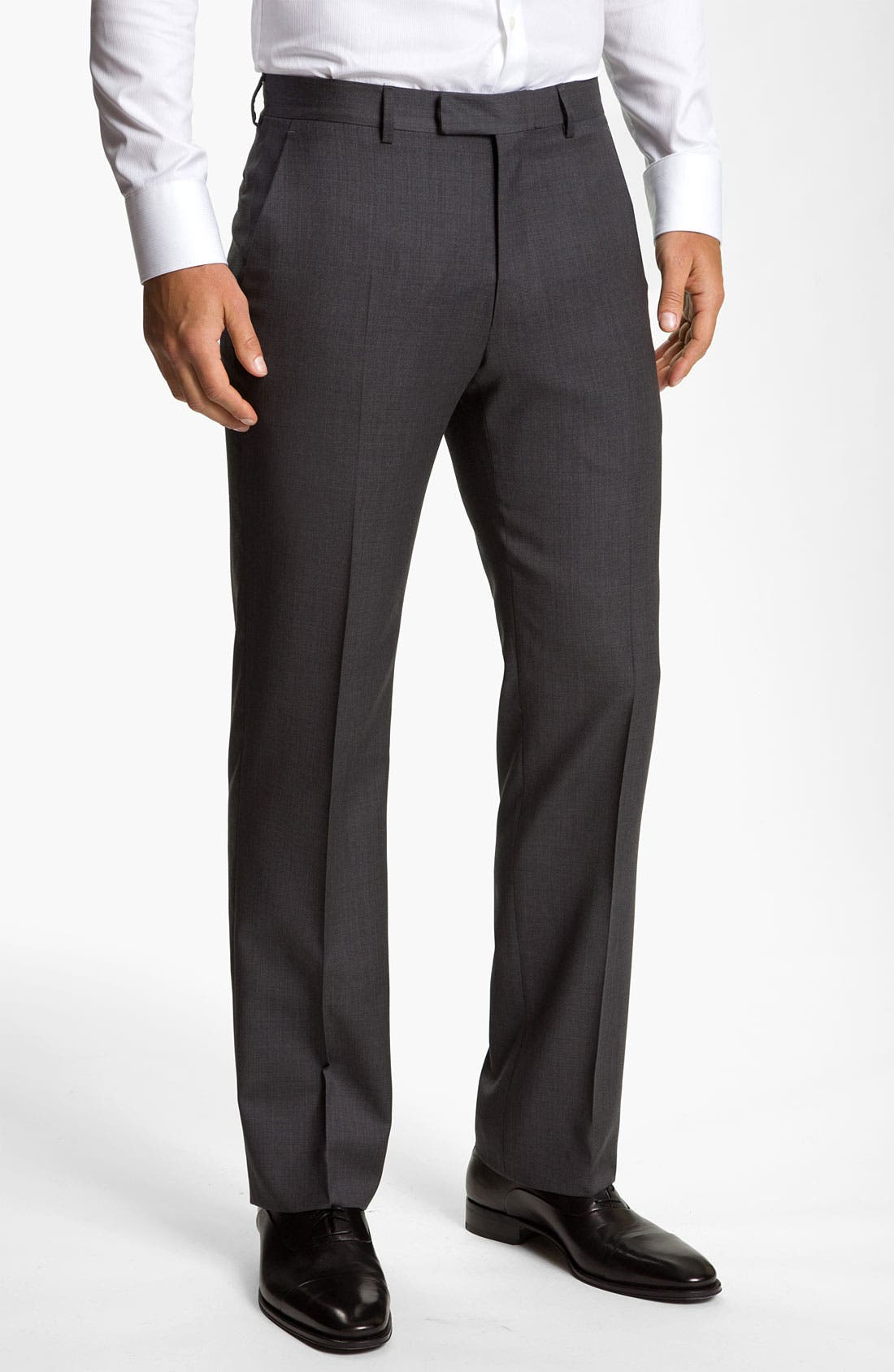 Alternate Image 1 Selected - John Varvatos Star USA 'Thompson' Wool Trousers