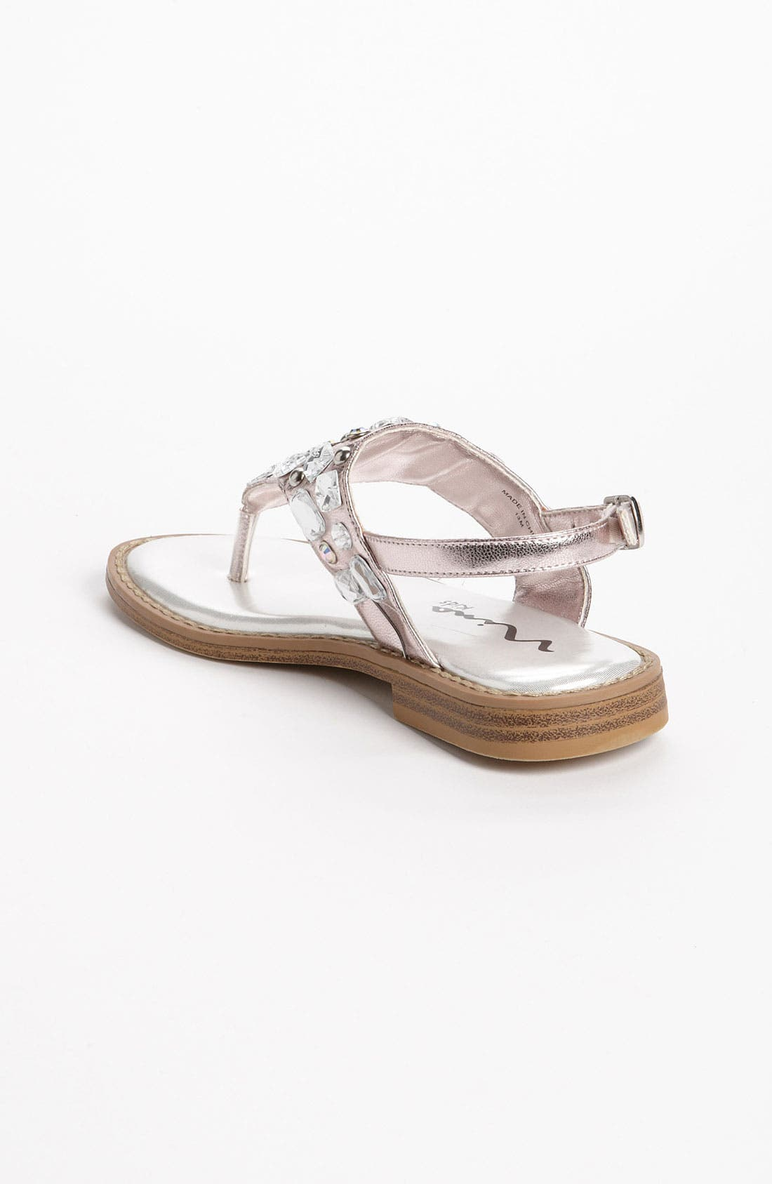 Alternate Image 2  - Nina 'Jewel' Sandal (Walker, Toddler, Little Kid & Big Kid)