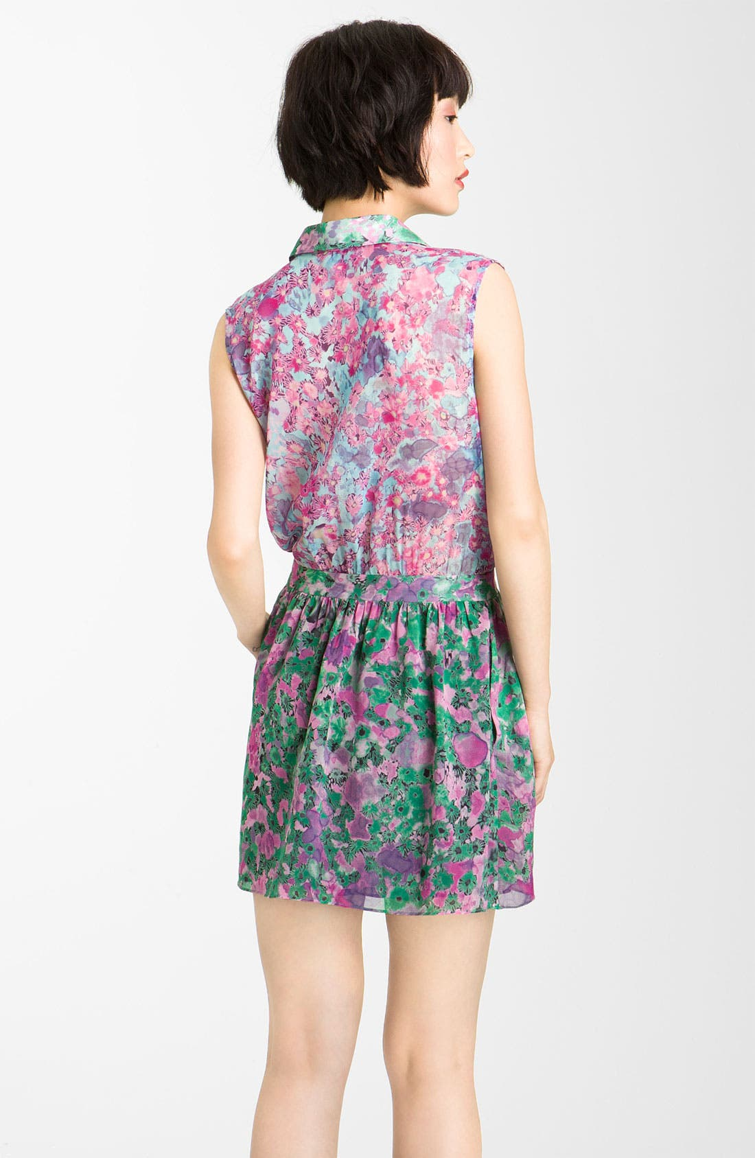 Alternate Image 2  - Gryphon 'Mimi' Print Chiffon Minidress