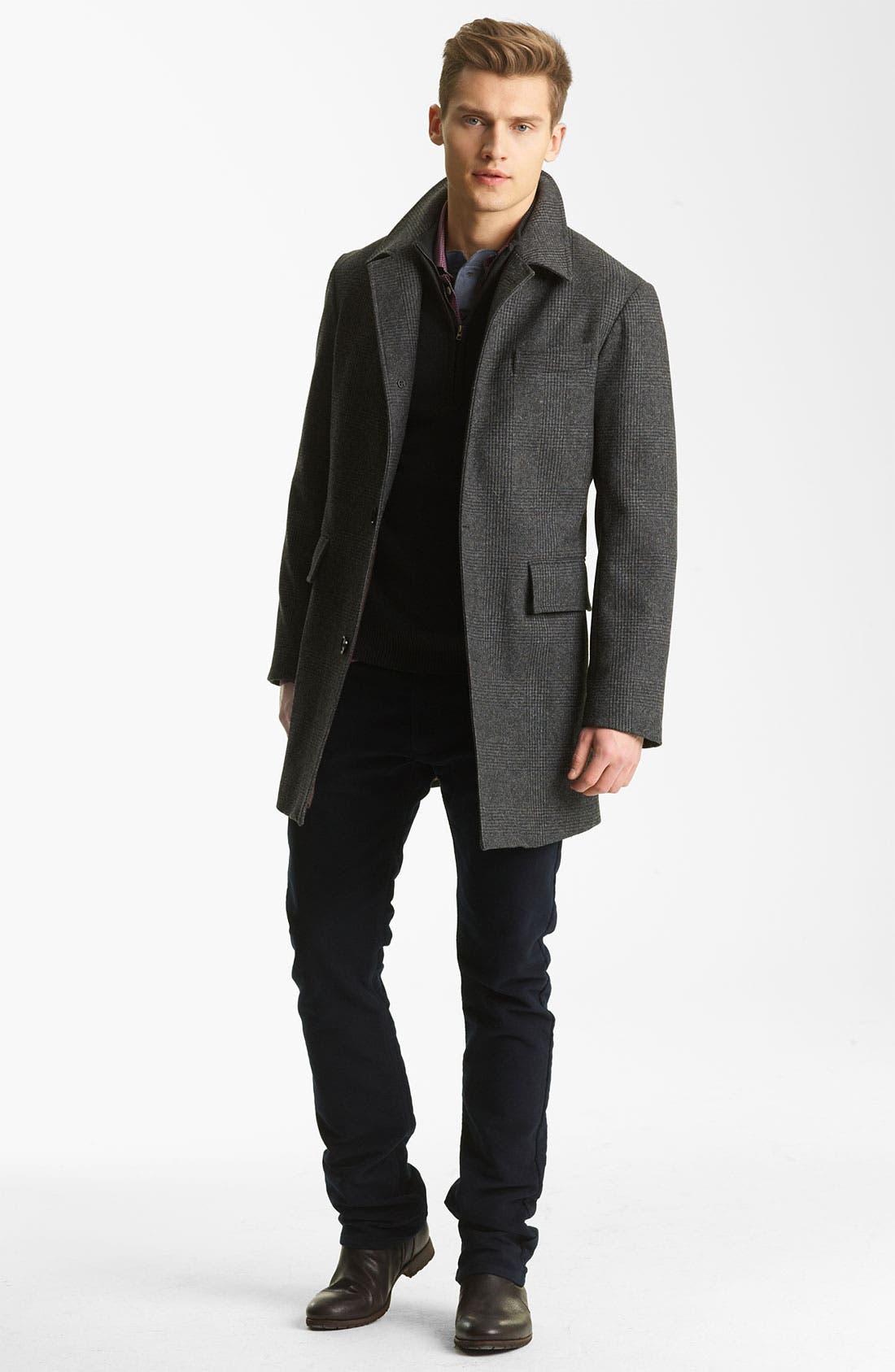 Alternate Image 4  - Billy Reid 'Sunday' Plaid Wool Coat