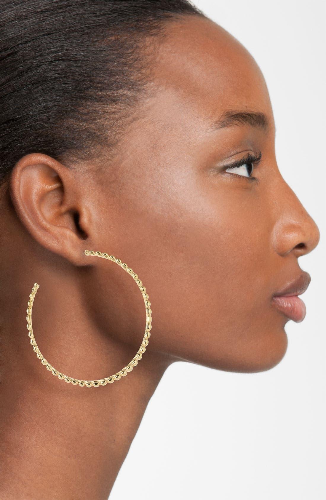 Alternate Image 2  - John Hardy 'Bedeg - Large' Hoop Earrings