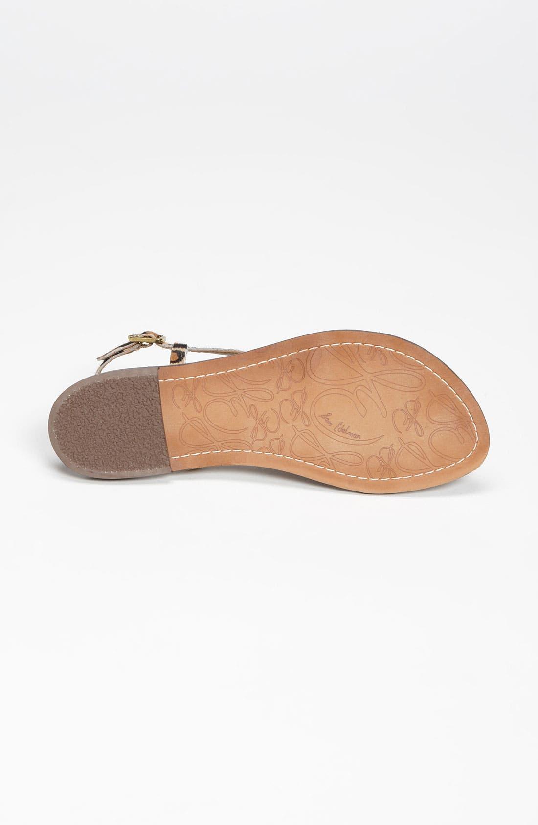 Alternate Image 4  - Sam Edelman 'Gigi' Sandal (Women)