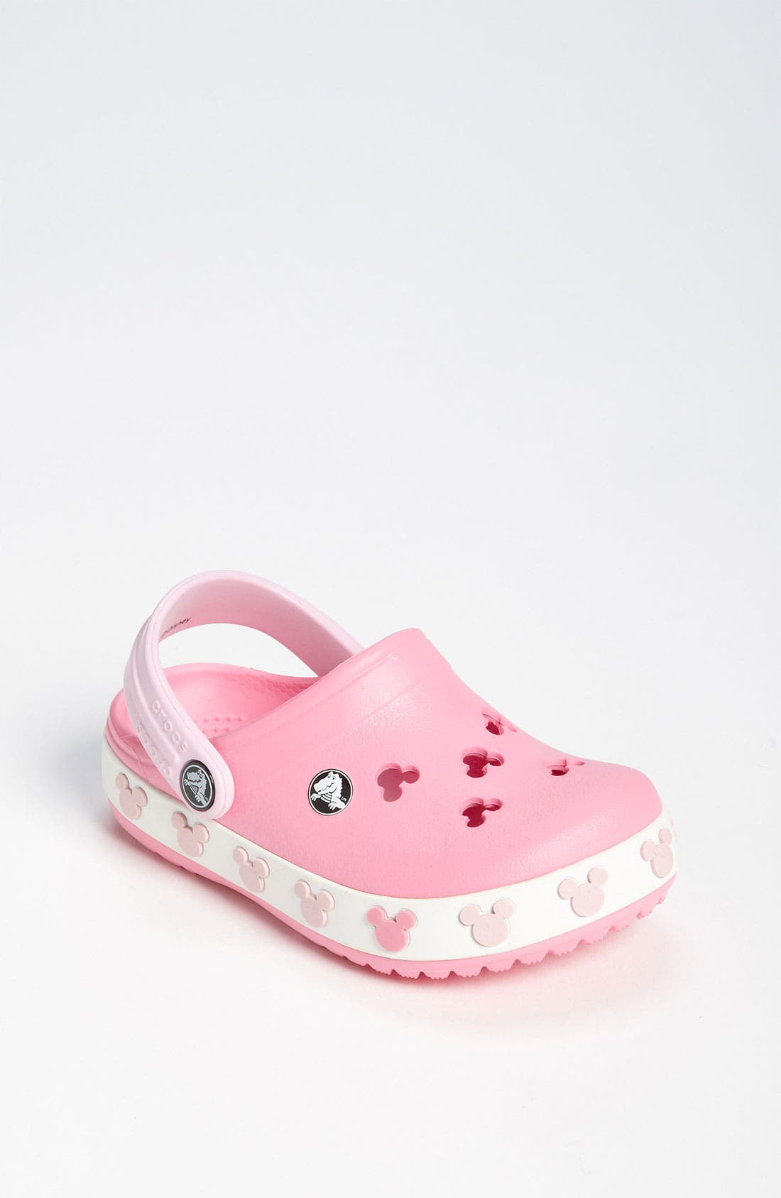 Main Image - CROCS™ 'Mickey®' Slip-On (Walker & Toddler)