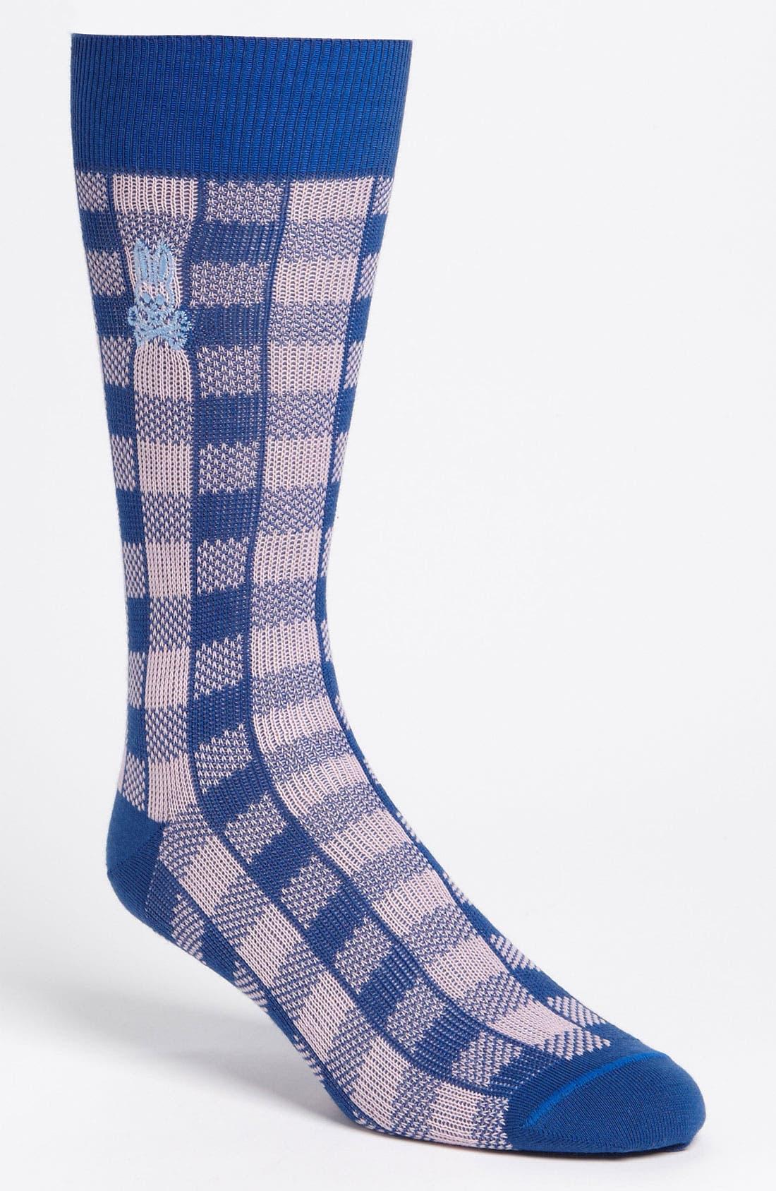 Main Image - Psycho Bunny 'Golf Check' Socks