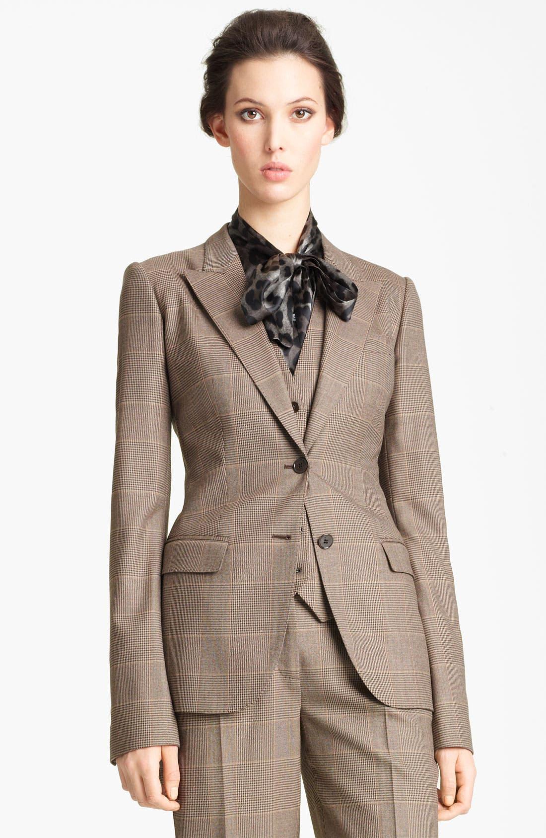 Main Image - Dolce&Gabbana Prince of Wales Blazer