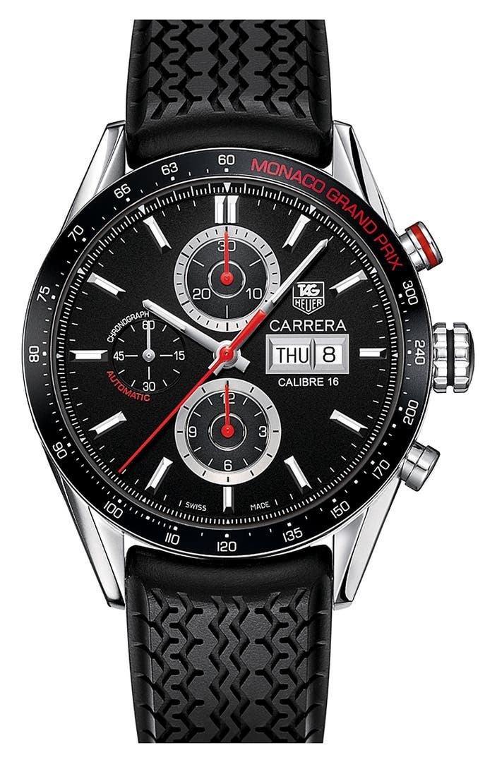 tag heuer 39 monaco grand prix 39 automatic watch limited edition nordstrom. Black Bedroom Furniture Sets. Home Design Ideas